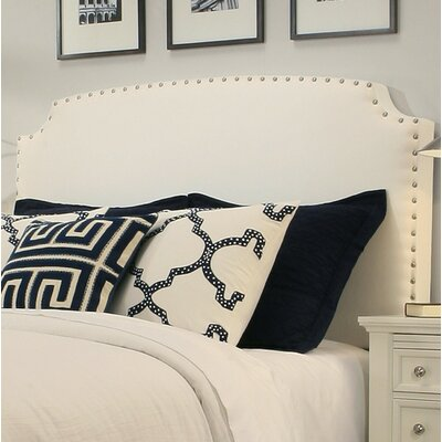 Almeida Upholstered Panel Headboard Size: Easten King/Cal King, Upholstery: White
