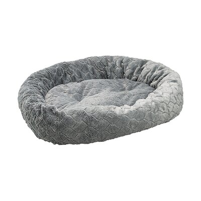 Diamond Cut Dog Bed Color: Deep Gray