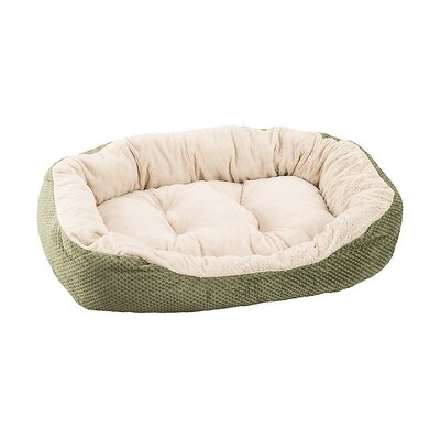 Checkerboard Snapper Dog Bed Color: Sage, Size: 7 H x 26 W x 31 D