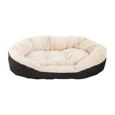 Checkerboard Snapper Dog Bed Size: 8 H x 16 W x 18 D, Color: Chocolate