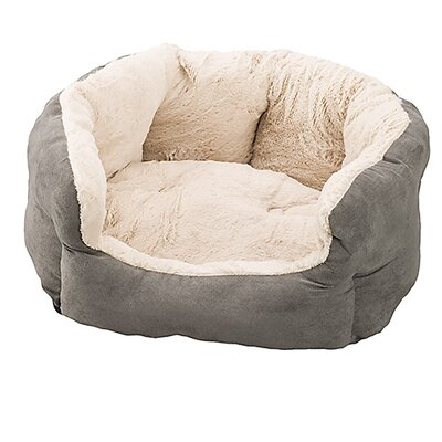 Reversible Cushion Dog Bed Color: Light Grey