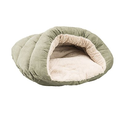 Cuddler Cave Hooded Dog Bed Color: Sage