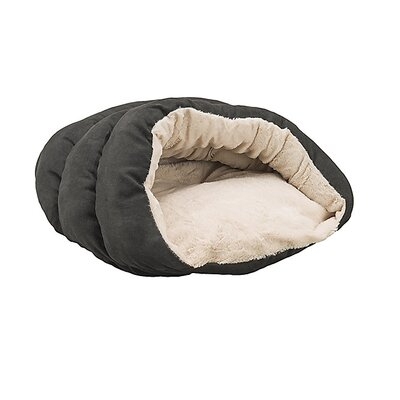 Cuddler Cave Hooded Dog Bed Color: Black