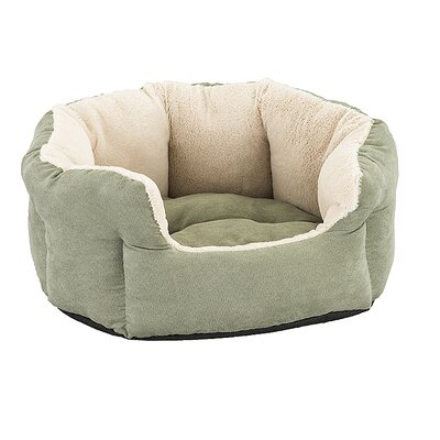 Reversible Cushion Dog Bed Color: Sage