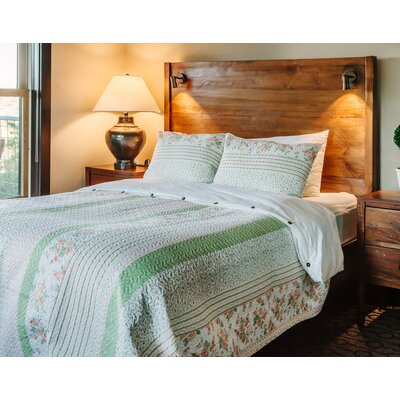 3 Piece Coverlet Set Size: Twin