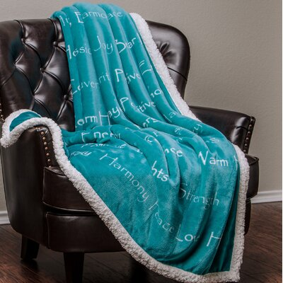 Super Soft Ultra Plush Throw Color: Gray, Size: 50 W x 65 L