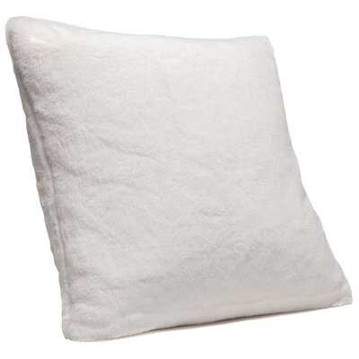 Throw Pillow Case Color: Ivory