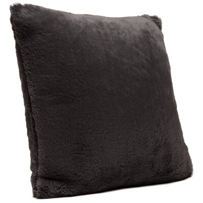 Throw Pillow Case Color: Dark Gray