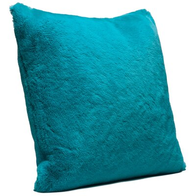 Throw Pillow Case Color: Teal