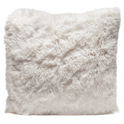 Throw Pillow Case Color: White