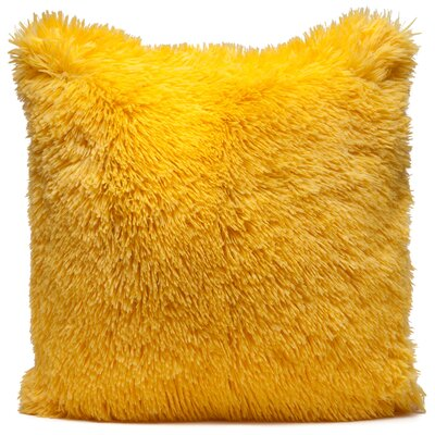Throw Pillow Case Color: Yellow