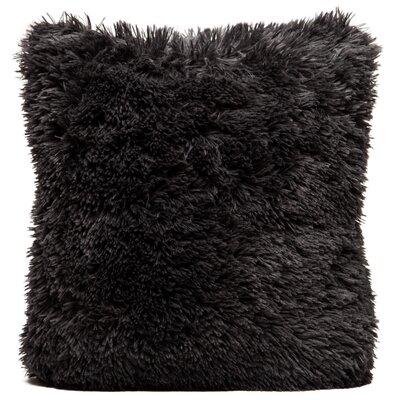 Throw Pillow Case Color: Dark Gray