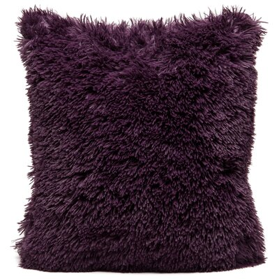 Throw Pillow Case Color: Aubergine