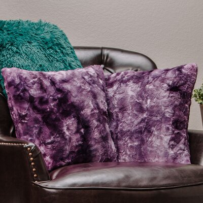 Chanasya Super Soft Pillow Case Color: Aubergine