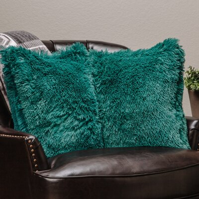 Chanasya Super Soft Pillow Case (Set of 2) Color: Teal