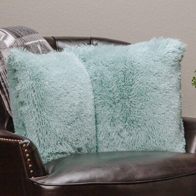 Chanasya Super Soft Pillow Case (Set of 2) Color: Turquoise