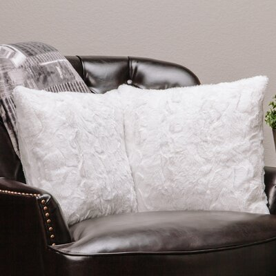 Chanasya Super Soft Pillow Case Color: White
