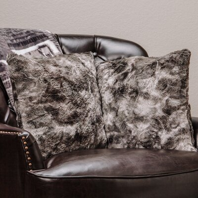 Chanasya Super Soft Pillow Case Color: Gray