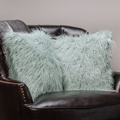 Throw Pillow Case Color: Turquoise