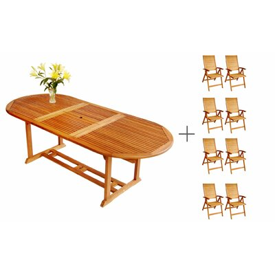 Cadsden Extendable Dining Set 2144 Product Image