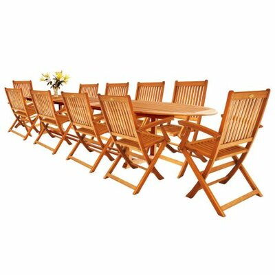 Cadsden 11 Piece Extendable Dining Set
