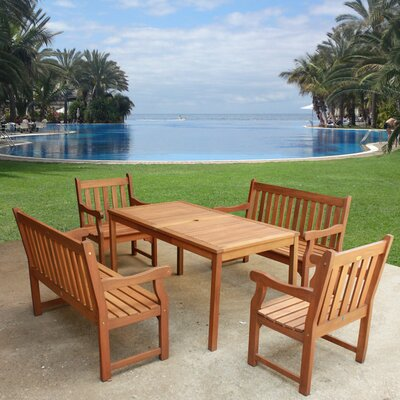 Adam 5 Piece Dining Set