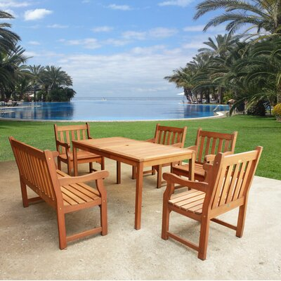 Adam 6 Piece Dining Set
