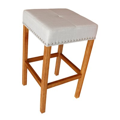 Alans 30.25 Bar Stool Finish: Walnut