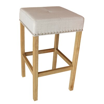 Alans 30.25 Bar Stool Finish: Natural