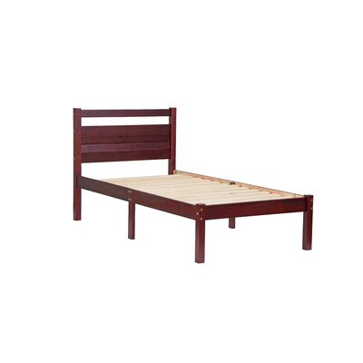 Bronx Twin Platform Bed Finish: Mahogany