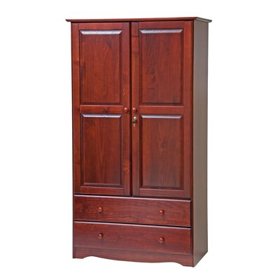 Smart Armoire Finish: Mahogany