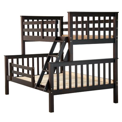 Pamplin Twin Over Full Bunk Bed Color: Java