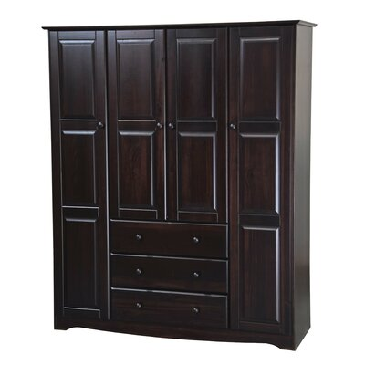 Trexler Family Armoire Color: Java