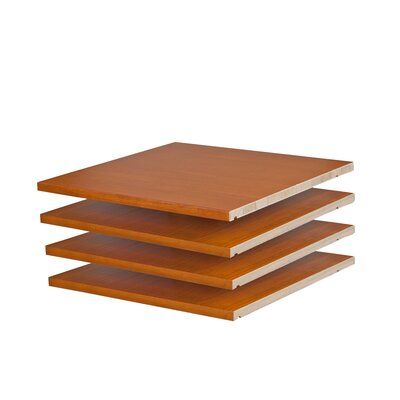 Musman Wardrobe Shelf Color: Honey Pine