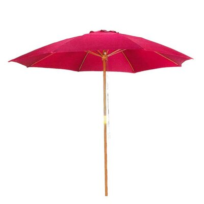 Image of .5' Market Umbrella Color: Bright Red