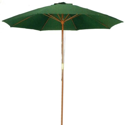 Image of .5' Market Umbrella Color: Hunter Green