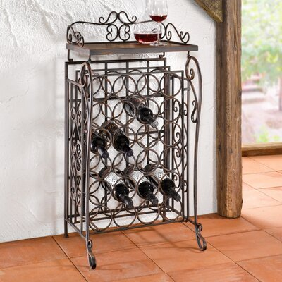 24 Bottles Floor Wine Rack