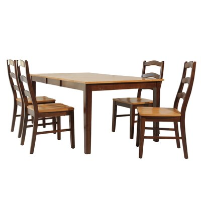 Stettler 5 Piece Dining Set