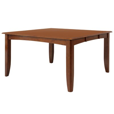 Wabasca Dining Table Finish: Saddle Brown