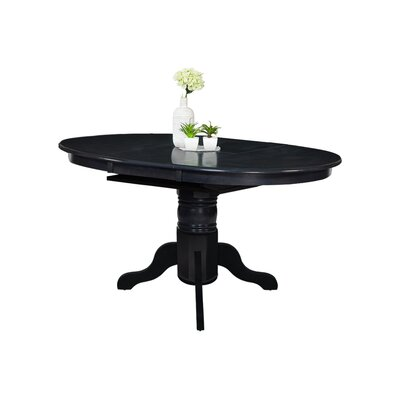 Valleyview Extendable Dining Table Finish: Dark Gray