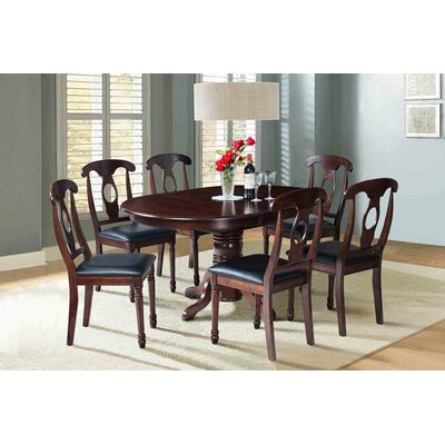 Valleyview 7 Piece Dining Set Finish: Espresso