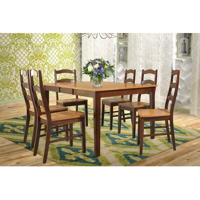 Stettler 7 Piece Dining Set