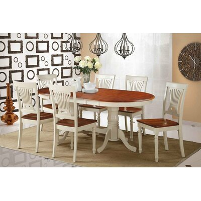 Bateson 7 Piece Solid Wood Dining Set