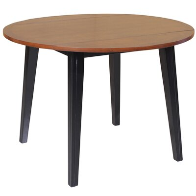 Caroline Extendable Dining Table Finish: Light Cherry / Black