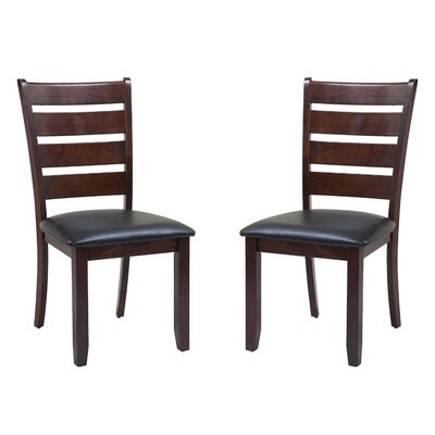 Two Sturdy Dining Chair Finish: Espresso
