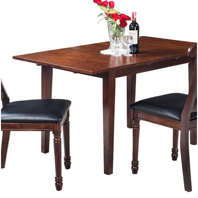 Two Sturdy Solid Wood Dining Table Finish: Espresso