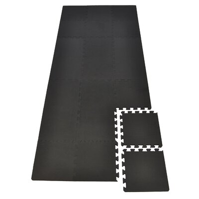 Extra Thick Foam Tiles Protection Mat for Treadmill and Gym Equipment (Set of 21)