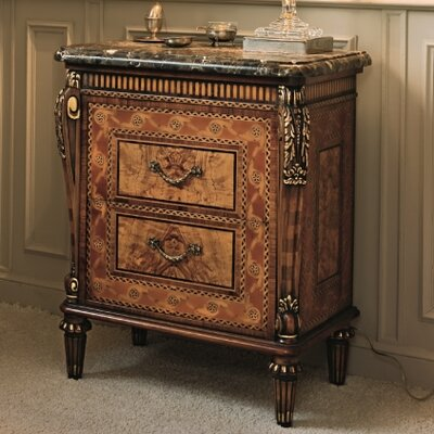 Elite 2 Drawer Nightstand