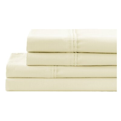 Pillowcase Color: Cream, Size: King