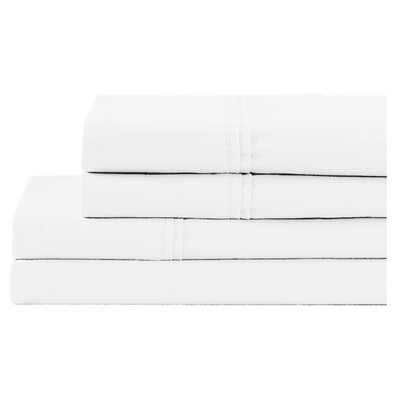 Pillowcase Size: King, Color: Pure White